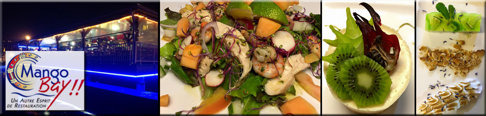 Le Mango Bay Restaurant Martinique